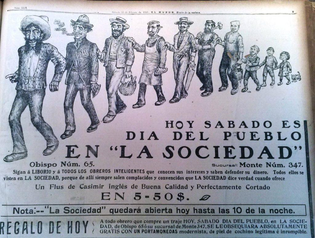 Liborio. El Mundo. 12 de febrero de 1910