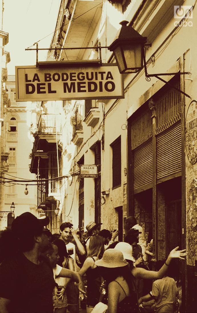 La Bodeguita del Medio. Foto: Luisa M. Hernández.