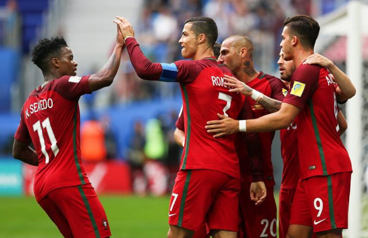Con Cristiano Ronaldo como líder, Portugal triunfó en la Eurocopa y llega a Rusia 2018 con las ilusiones por las nubes. Foto: as.com.
