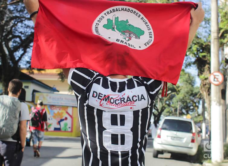 """""""Lula es ese hijo de puta que amas."""" Foto: Nicolás Cabrera"""