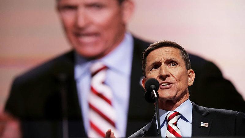 El Teniente General del Ejército retirado Michael Flynn. Foto: Chip Somodevilla/Getty Images.