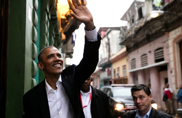 Barack Obama en La Habana durante su visita de marzo de 2016. Foto: The White House.