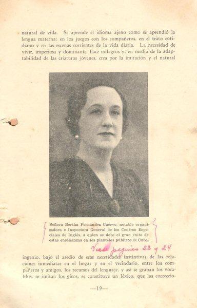 Centros Especiales de Inglés. Foto: Archivo familiar.