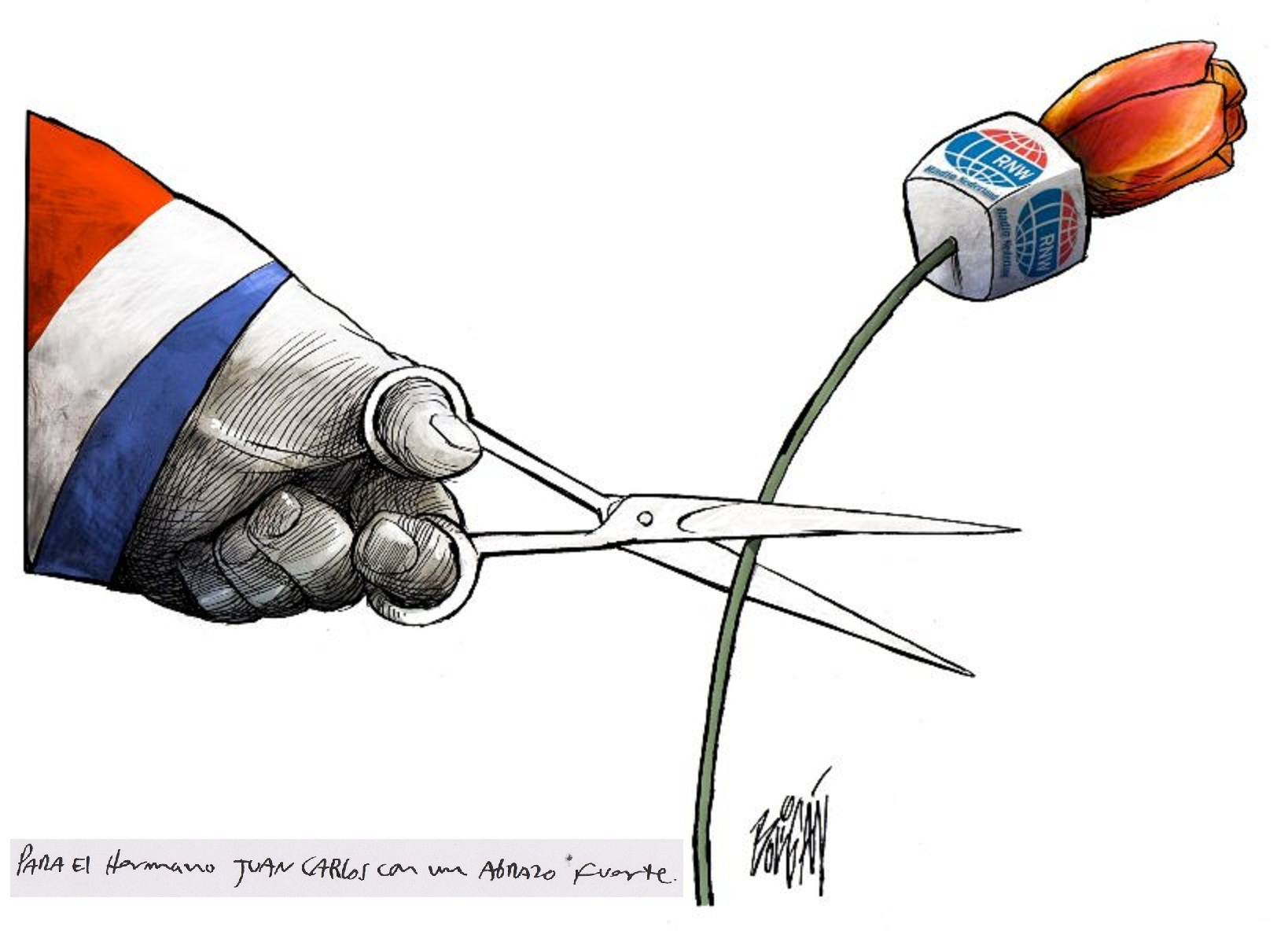 Dibujo: Ángel Boligán.