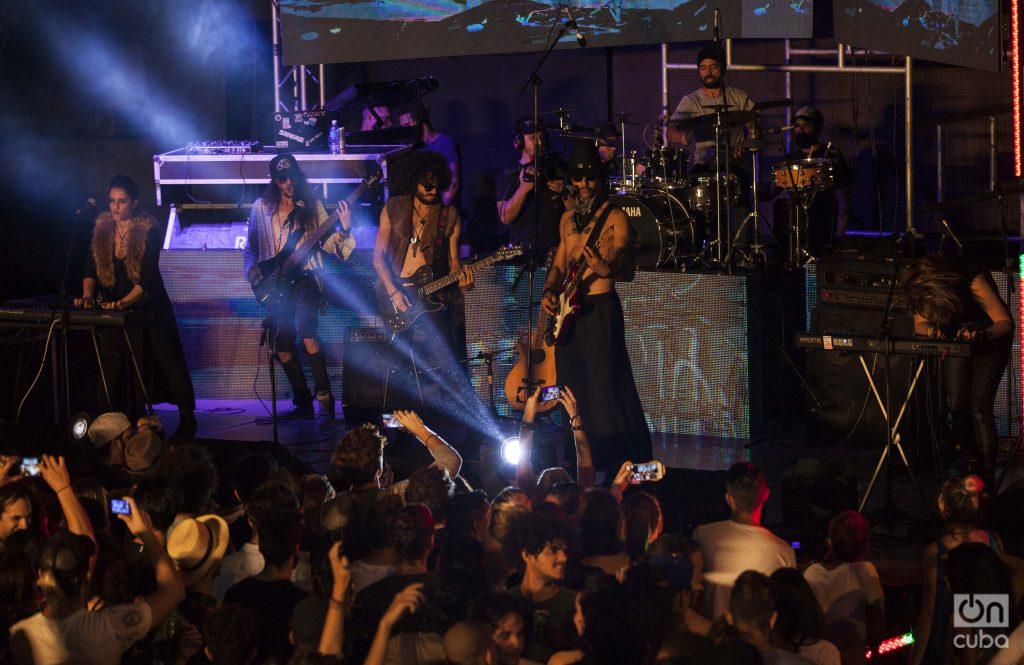 Pimer concierto realizado por BandEra Studio en el Salón Rosado de La Tropical. Foto: Claudio Pelaez Sordo.