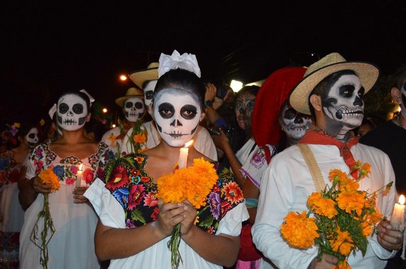 Día de Muertos en México. Foto: Pxhere.