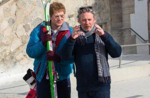 Dexter Fletcher, a la derecha, director de Bohemian Rhapsody. Foto: espinof.com