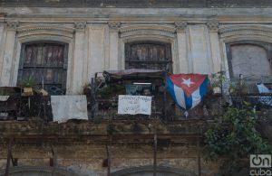Vista de Zulueta 505, por la calle del mismo nombre. Foto: Otmaro Rodríguez.