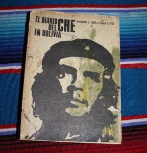Primera edición cubana de El diario del Che en Bolivia.