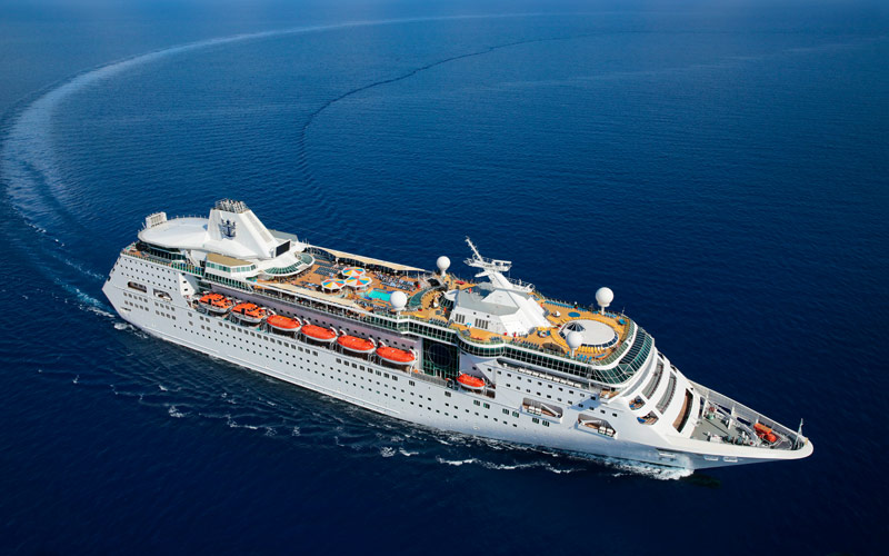 Crucero Empress of the Seas, de la compañía Royal Caribbean. Foto: The Cruise Web