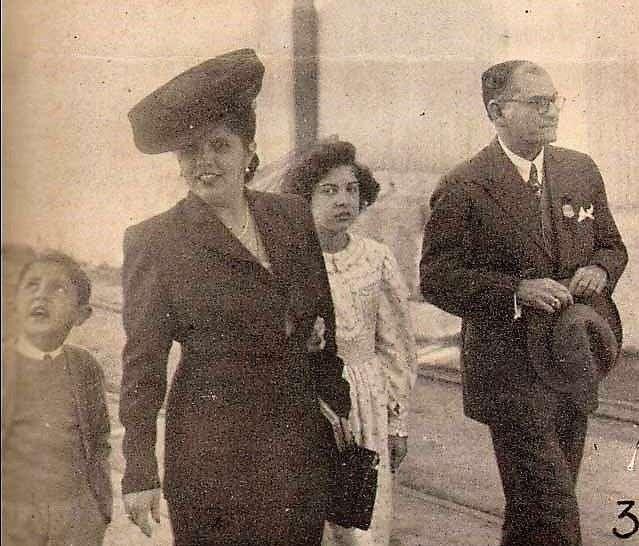 Carmelina tuvo una intensa vida social. Foto: Archivos de Bohemia.
