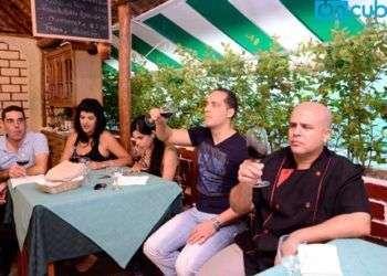 Bodegas Torres en Café Ajiaco Foto: Alain L. Guitiérrez