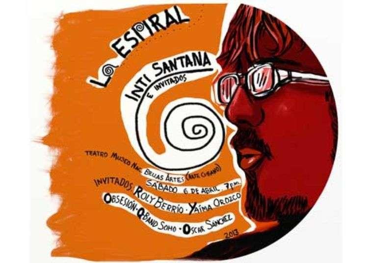 La Espiral: concierto del Trovador cubano Inti Santana