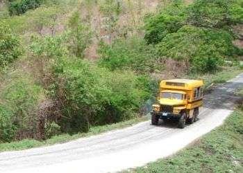 En casi todos los accidentes que han ocurrido en las últimas semanas han estado involucrados camiones adaptados para transportar pasajeros. Foto: Gaspar Francés.