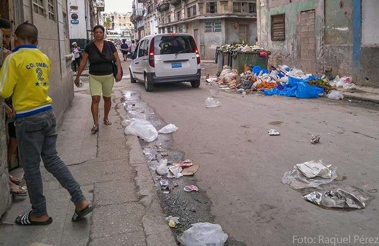 La basura en Cuba