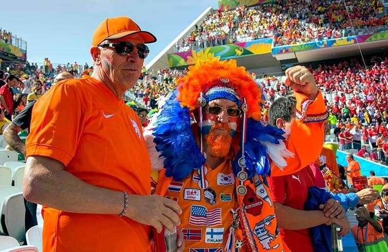 Holanda-Chile en el Arena Corinthians de Sao Paulo