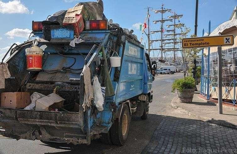 La recogida de la basura