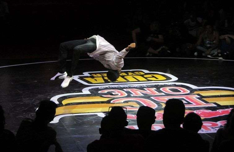 The Red Bull BC One Cypher contest is about to start  / Photo: Roberto Ruiz