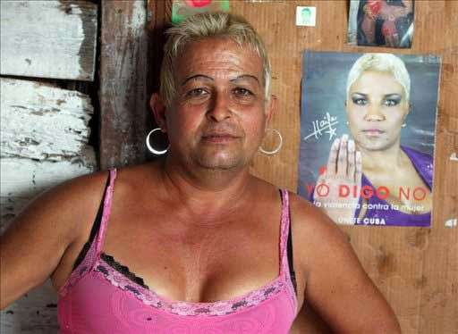 Adela Hernandez, nurse, the only transgender person ever elected municipal representative in Cuba. Photo: SentidoG.
