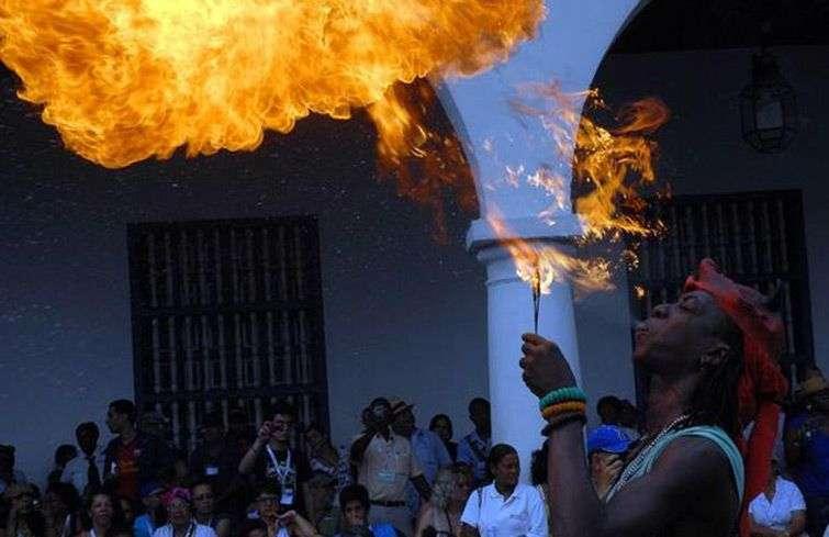 El Festival del Caribe se celebra cada año a principios de julio, en Santiago de Cuba. Foto: archivo