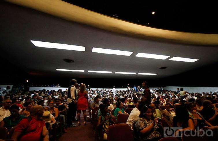 Canción de barrio se estrenó en la sala Charles Chaplin / Foto: Carla Valdés