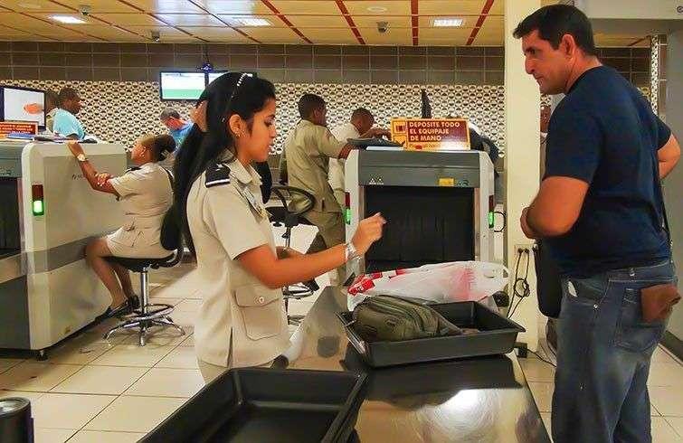 Aduana en el Aeropuerto Internacional José Martí de La Habana.