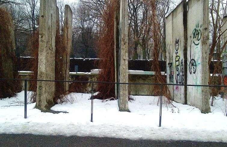 Fragmentos del Muro de Berlín