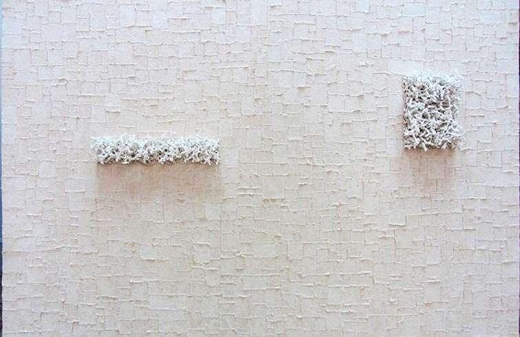 Tu vida y la mía (detail/detalle), 2013 / Mixed media on canvas (Técnica mixta sobre tela) / 150 x 200 cm