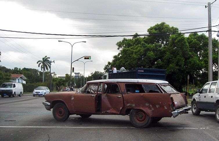 Los accidentes son comunes por el mal estado técnico de los vehículos / Foto: Raquel Pérez.