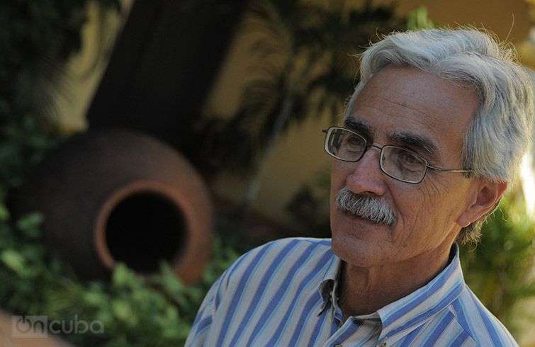 Fernando Crespo, a researcher at the Office of the Historian of the City of Camaguey / Photo: Roberto Ruiz.