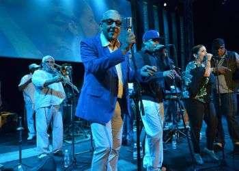 Concierto de Los Van Van en el Festival del Habano, 2014 / Foto: Rolando Pujol.