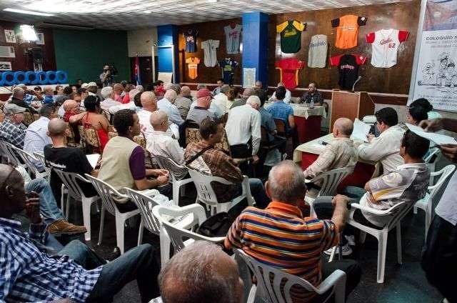 Una de las sesiones del coloquio / Foto: Iván de La Rosa