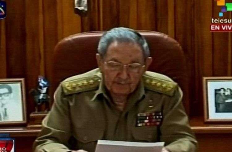 Raúl Castro / Foto: Tomado de Telesur