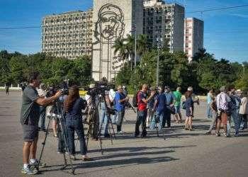 Imagen de la Plaza de la Revolución este 30 de diciembre en horas de la tarde / Foto: Tomado de El Universal