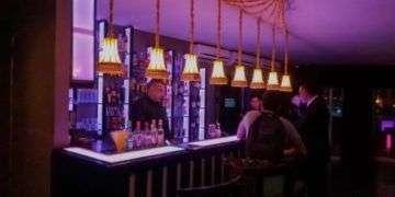 Barra de La flauta mágica, días antes de la inauguracióndel bar / Foto: A. Montes de Oca