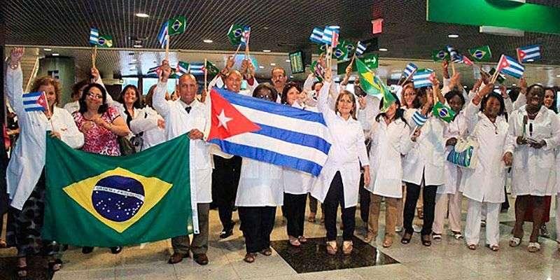 Brasil les autoriza a estar con sus familias, el ministerio de salud de Cuba se los prohíbe