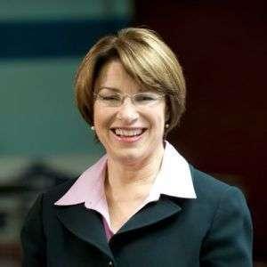 Amy Klobuchar, senadora demócrata de Minnesota