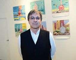 Alberto Magnan, coleccionista estadounidense de arte cubano