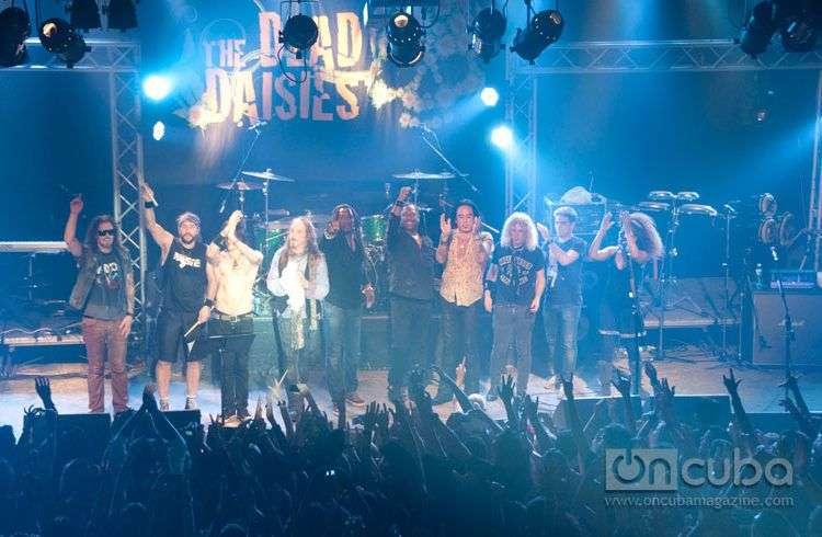 Concierto de The Dead Daisies en el Maxim Rock, La Habana Cuba, 25 de febrero de 2015 / Foto: Roberto Ruiz