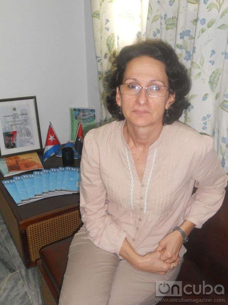 Ingeniera Aniuska Betancourt Hernández, Presidenta de la AENTA / Foto: Gabriela M. Fernández