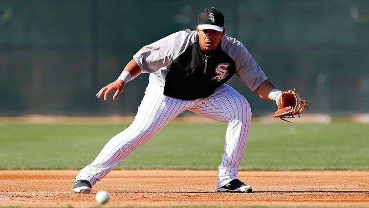 José D. Abreu, rookie of the year last season in the American League, eager to get to the playoffs with the Chicago White Sox