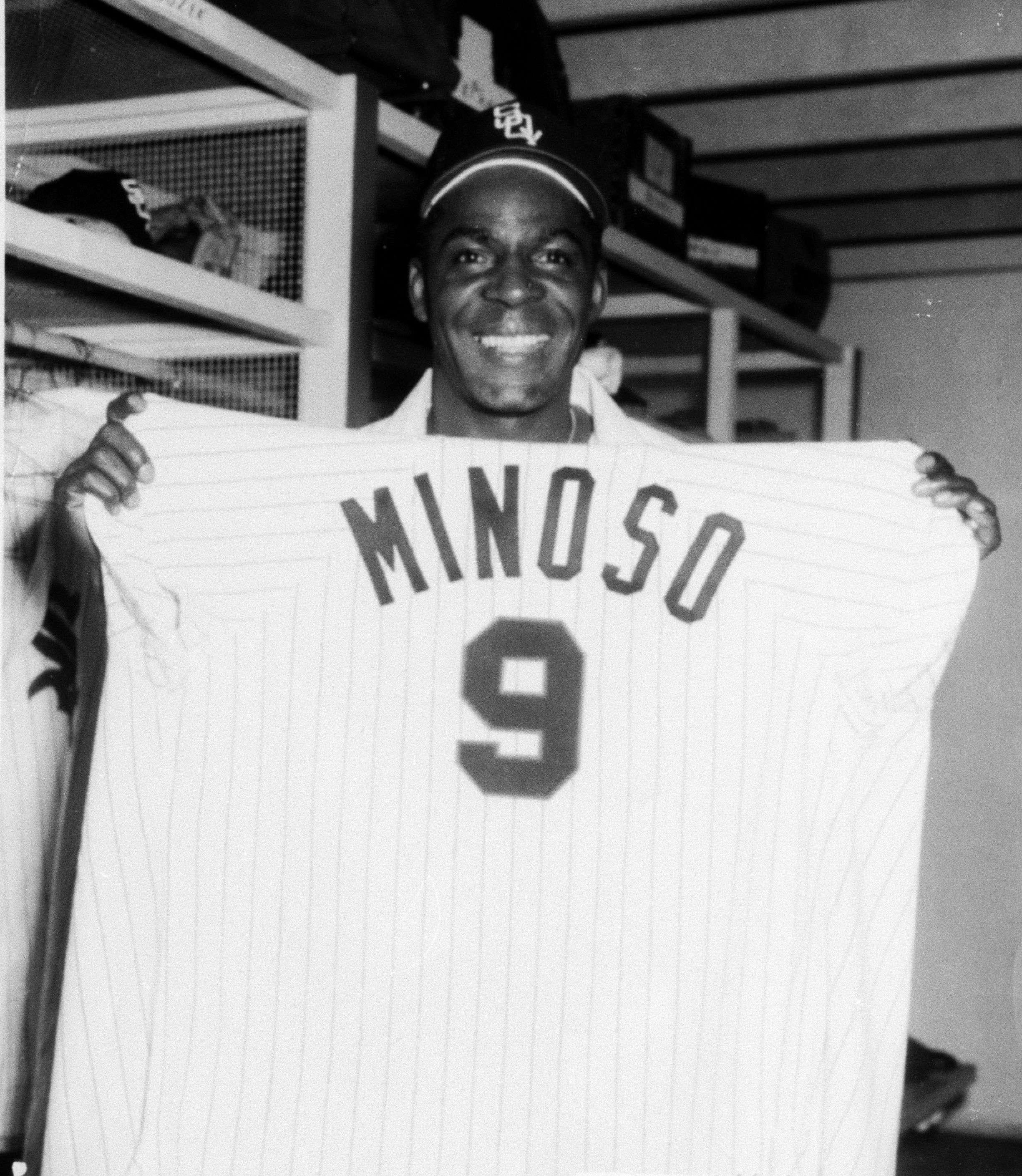 Minnie Miñoso fue el primer cubano con 100 jonrones en MLB. Foto: Archivo.