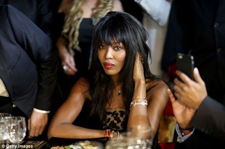 The famous model Naomi Campbell / Photo: Daily Mail