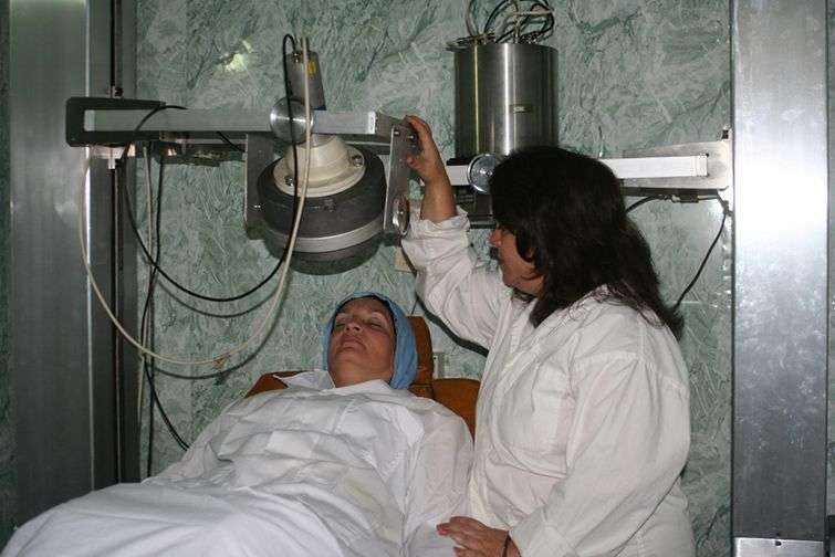 In health, radiation is -along with radiology- the extended using of nuclear power in Cuba / Photo: Courtesy of the interviewee