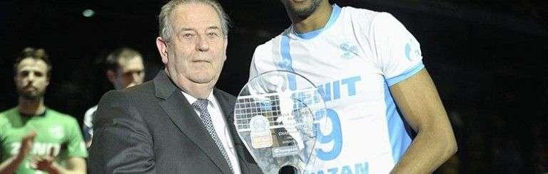 Wilfredo León fue seleccionado como el mejor jugador (MVP) de la Champions League