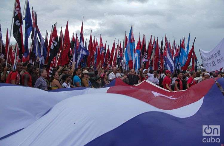 Desfile 1ro de mayo 2015 / Foto: Yaniel Tolentino