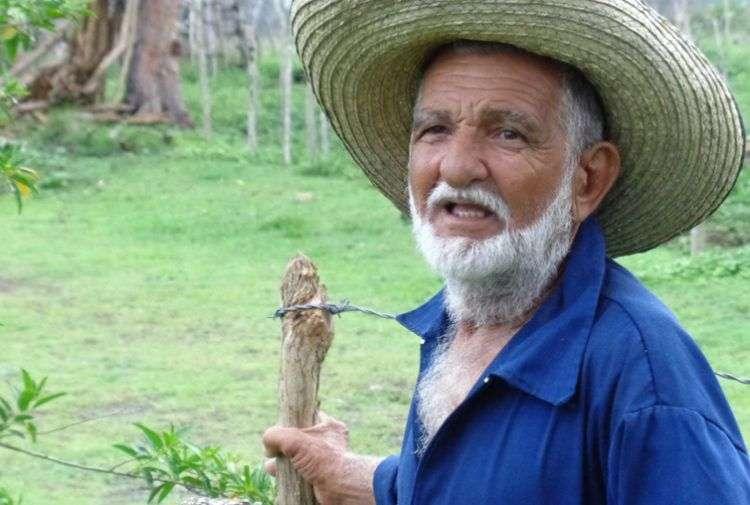 Cachirulo, ganadero camagüeyano. Foto: Cortesía del autor