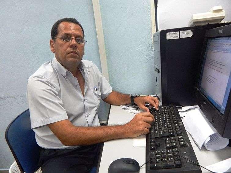 Sergio del Castillo Alonso, Jefe del Departamento de Drenaje Pluvial de Aguas de La Habana