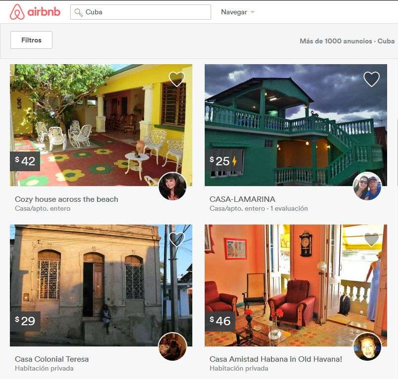airbnb cuban houses