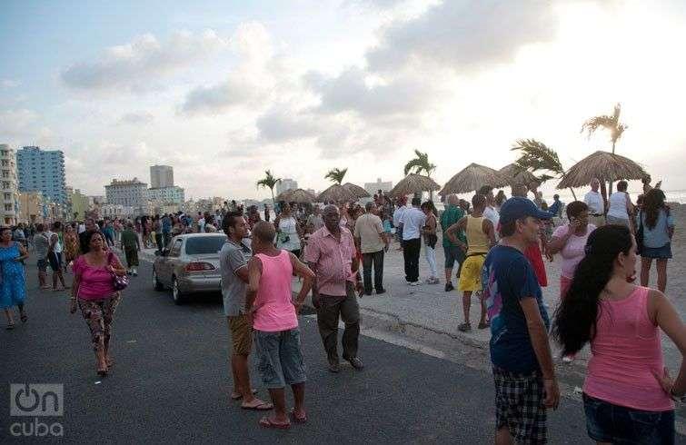Detrás del Muro. 12 Bienal de La Habana. Foto: Alejandro Yero.